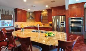 small traditional kitchen ideas white marble countertop curved