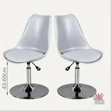 drehstuhl esszimmer 2er set stuhl esszimmer küchen drehstuhl kunststoff modern grau
