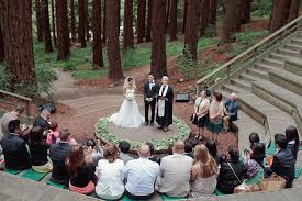 Berkeley Botanical Garden Wedding Wedding Guests On Mirov Room Patio At Uc Berkeley Botanical Garden