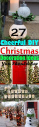 27 cheerful diy christmas decoration ideas you should look