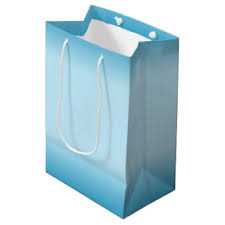 blue gift bags plain blue gift bags zazzle