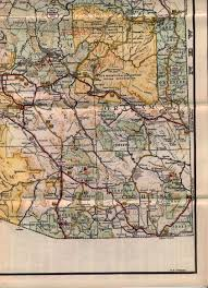 Terminus Cave Map Throwback Thursday Arizona State Route 87
