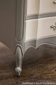 Gray Furniture Paint For The Love Of Two Grays Two Toned Gray Dresser Southern Revivals