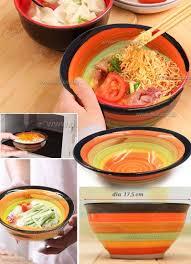 Rainbow Home Decor by 17 5 Hand Painted Rainbow Bowl Creative Mixed Color Porcelain Bowl