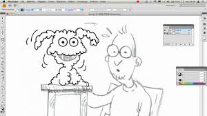tutorial illustrator italiano inchiostrare uno schizzo a matita video tutorial illustrator