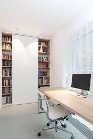 White Wall Unit Bookcases by Home Office Home Office Loft Traditional Desc Drafting Chair