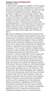 alibaba case study solved read the case study then answer the two questions