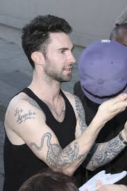 adam levine tiger tattoomagz