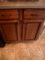 How To Stain Kitchen Cabinets by Gel Stain Oak Kitchen Cabinets Detrit Us