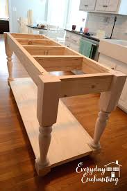 how to make a kitchen island build your own kitchen cabinets ghanko