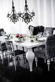 Black Chandelier Dining Room From Inspiration To Reality The