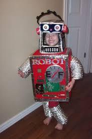 Kids Robot Halloween Costume Chasing Fireflies Robot Costume Robo Kid Costume Adorable