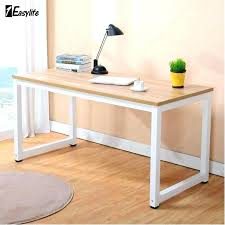 The Range Computer Desk Light Wood Computer Desk Furniture Small Office Within Remodel 13