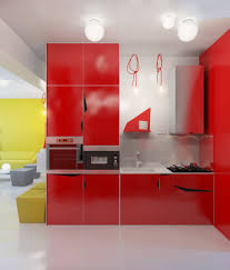 modern apartment kitchen elegant red modern apartment kitchen design can be decor with