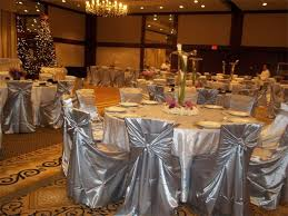 Silver Chair Covers Www Lepartyrentalzone Com Tablecloth Round Cocktail