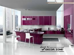 2 Tone Kitchen Two Tone Kitchen Cabinets Modern Design And White Purple Hd Photo