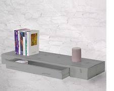 mensole rovere grigio mobili e pensili mensole con cassetti per la casa ebay
