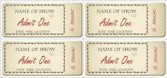 free printable ticket template 100 images 8 printable raffle