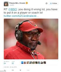 Meme Jordan - arizona cardinals tweet the michael jordan crying face meme
