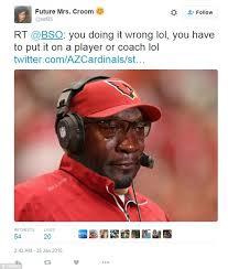 Michael Jordan Crying Meme - arizona cardinals tweet the michael jordan crying face meme