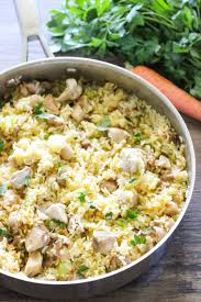 Easy Chicken Dinner Ideas For Family One Pot Creamy Chicken And Rice I Heart Nap Time