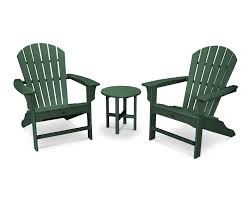 Folding Outdoor Table And Chairs Cape Cod 3 Piece Adirondack Set Trex Outdoor Furniture