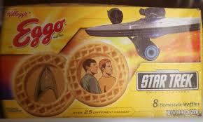 Eggo Toaster Waffles Star Trek Eggo Waffles Food In Real Life