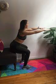 Chair Squat Sweat It Out With This Quick And Easy Hotel Room Workout Polar Blog