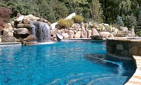 cool pool with waterfall pools for home