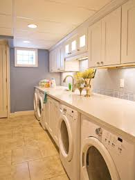 Cute Laundry Room Decor by Decorating Stunning Laundry Room Decor With White Floating