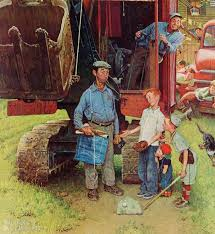 302 best images on norman rockwell paintings