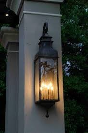 electric lights that look like gas lanterns the sarasota lantern gas or electric the carolina collection