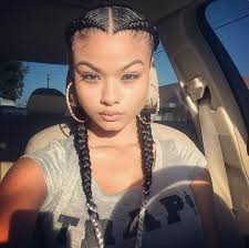 French Braid Hairstyles With Weave Top 10 African American Ponytails Styles 2016 Beautiful