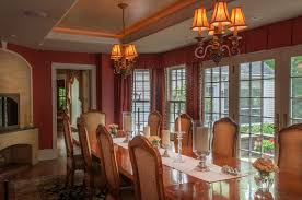 Old World Dining Room by Tuscan Old World White Oak Interiors