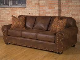 rustic leather sofa u2013 coredesign interiors
