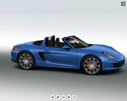 Porsche Boxster S 2016 - just ordered 2016 boxster s in sapphire blue 6speedonline