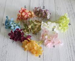 fleur artificielle mariage 6 bouquets 96 fleurs hortensia fleur artificielle mariage bandeau
