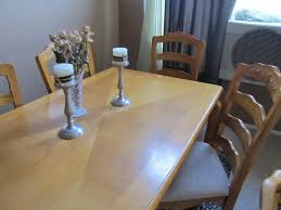 before and after diy dining table makeover pretty providence