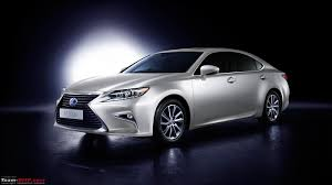 lexus brand launch lexus es 300h launched in india at rs 55 lakh team bhp