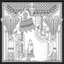 egyptian coloring pages stress relief coloring app