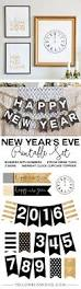 New Years Cupcake Decorations by New Year U0027s Eve Printable Set Yellow Bliss Road