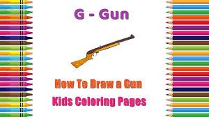 how to draw a gun coloring pages alphabets coloring pages baby