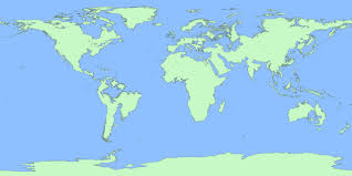 map world seas the world if sea level rise 100 m also see how continents will