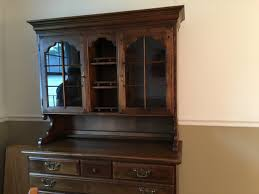 Temple Stuart Dining Room Set Early American Temple Stuart Two Piece Hutch My Antique