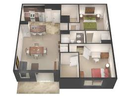 Floor Plan Of An Apartment Floor Plans U0026 Rates University Flats Greeley