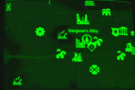 Fallout 4 Map by Image Fo4 Map Hangman U0027s Alley Jpg Fallout Wiki Fandom