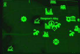 Fallout Map by Image Fo4 Map Hangman U0027s Alley Jpg Fallout Wiki Fandom