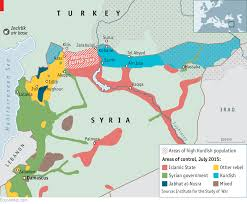 Kurdistan Map Awkward Allies