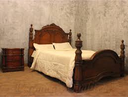 Antique Mahogany Bedroom Furniture Antique Mahogany Bedroom Sets With Carving By Veronicas Qualiteak