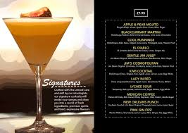 martini ginger le monde drinks menu 2015 june 4 jpg